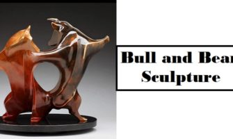 Bull and Bear Sculpture