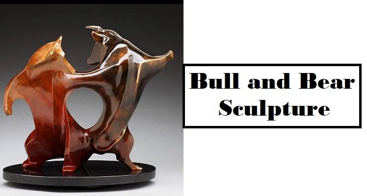 Bull and Bear Sculpture